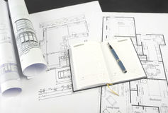 Blueprints series Stock Photography