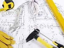 Blueprints series Stock Photo