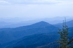 blueridge山 库存图片