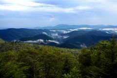 Blueridge Mountains Royalty Free Stock Photo
