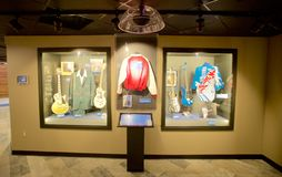 Blues Artist clothing display at the Blues Hall of Fame Building in Memphis, TN Stock Photo