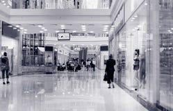 blues centrum nabywcy odcień zakupy fotografia stock