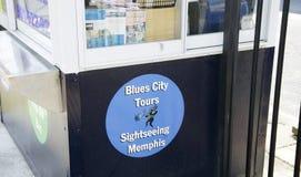 Blues City Tours, Memphis, TN stock photo