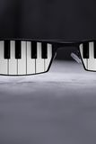 Blues Glasses. Cool blues glasses of an musician Stock Images