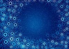 blues gwiazdkę więcej magii płatki śniegu ilustracji