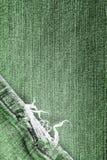 Blues-jean frangées Photographie stock libre de droits