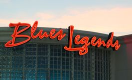 Blues Legends Club At The Horse Shoe Casino Tunica, Robinsonville Mississippi Royalty Free Stock Photos