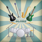 Blues Royalty Free Stock Photography
