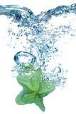 blues pęcherzyków wodą Obraz Royalty Free