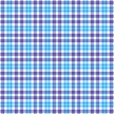 Blues Plaid Seamless Stock Images