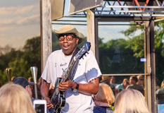Blues Recording Artist Mr. Sipp, The Mississippi Blues Child Royalty Free Stock Photography