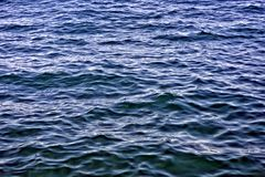 Blues sea waves, water texture and background Stock Photo