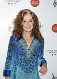 Bonnie Raitt. Blues singer and songwriter Bonnie Raitt arrives for the Little Kids Rock Gala at the PlayStation Theater in New York City on October 18, 2017. The Stock Photo