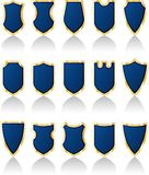 Blueshields Royalty Free Stock Images