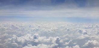 bluesky bewolkt van de wolkenhemel royalty-vrije stock afbeelding