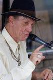 Bluesman Watermelon Slim in Clarksdale Fotografia Stock