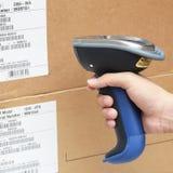 Bluetooth barcode och QR-kodbildläsare Royaltyfri Foto