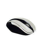 Bluetooth bezprzewodowa mysz odizolowywająca nad białym tłem Zdjęcia Stock
