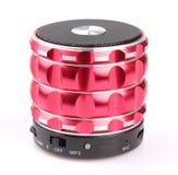Bluetooth högtalare Arkivfoto