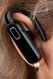 Bluetooth hands-free Imagem de Stock Royalty Free
