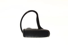 Bluetooth handsfree headset isolated. On white background stock photo
