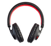 Bluetooth headphones Royalty Free Stock Photos