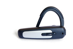 Bluetooth headset stock image