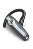 Bluetooth headset. In isolated white background Royalty Free Stock Photography