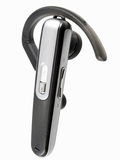 Bluetooth headset Royalty Free Stock Photo