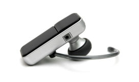 Bluetooth headset Stock Photo