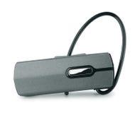 Bluetooth headset. Isolated on white Stock Photo