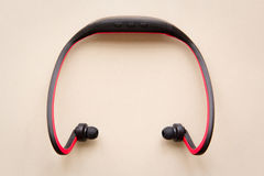 Bluetooth headset Royalty Free Stock Photography