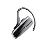 Bluetooth headset. On white background Stock Images