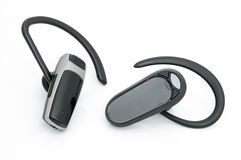 Bluetooth headsets Stock Photography