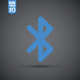 Bluetooth icon Stock Photography