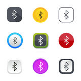 Bluetooth icons Royalty Free Stock Photo