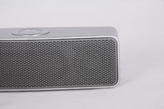 Bluetooth portable speaker stock images