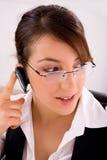 bluetooth provider service talking Στοκ εικόνες με δικαίωμα ελεύθερης χρήσης