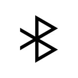 Bluetooth sign for web and design. It is bluetooth sign for web and design Stock Photo