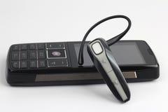 Bluetooth slut upp med en mobiltelefon Royaltyfria Bilder