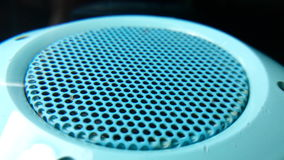 Bluetooth speaker. Grate Royalty Free Stock Photography