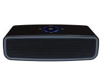 Bluetooth speaker. Bluetooth, nfc speaker on a white background Stock Photos