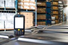 Bluetooth-streepjescodescanner Stock Fotografie