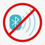 Bluetooth Vector Icon Stock Photo