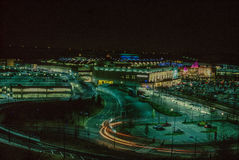 Bluewater shopping Complex at Night Stock Image