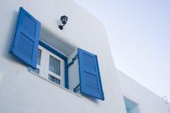 Windows azul Imagem de Stock