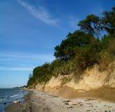 Bluff al Mar Baltico Immagine Stock Libera da Diritti