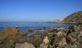 Bluff Cove Trail. Ocean and geology at Bluff Cove, California Stock Photo