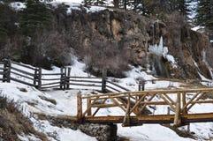 Bluff de ressort, Nouveau Mexique Photographie stock libre de droits