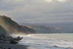 Bluff del Juan de Fuca immagini stock libere da diritti